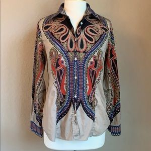 Etro Italian Button Down 48